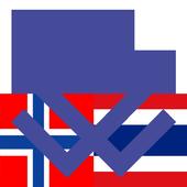 Norwegian Thai Dictionary icon