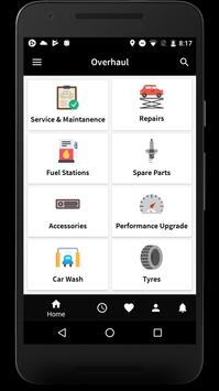 Overhaul: An Auto Care App poster