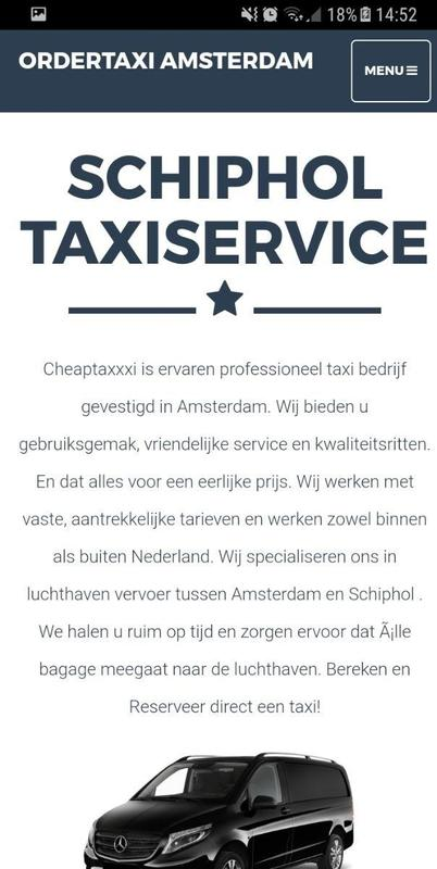 Order a taxi amsterdam apk download free business app for android - Order a cab ...