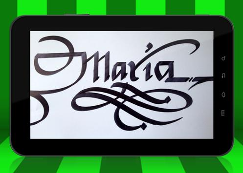 Calligraphy Name Art Maker screenshot 20