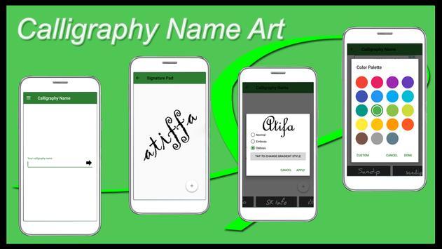 Calligraphy Name Art Maker screenshot 24