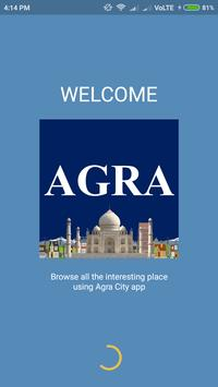 Agra City Guide poster