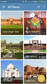Agra City Guide screenshot 1