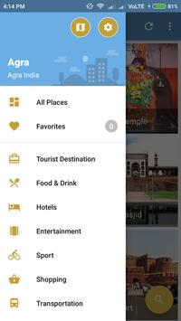 Agra City Guide screenshot 2