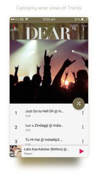 Music Player - Mp3 Player 2017 screenshot 1