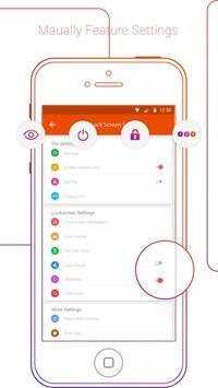 iLockscreen OS10 screenshot 1