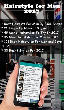 Hairstyle For Men 2017 poster