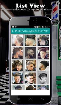 Hairstyle For Men 2017 screenshot 2