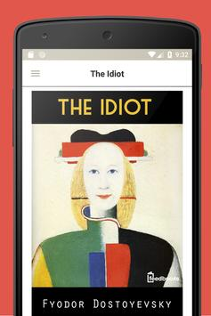 The Idiot — Fyodor Dostoevsky poster