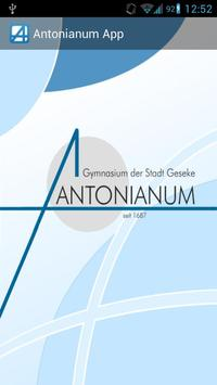 Antonianum App poster