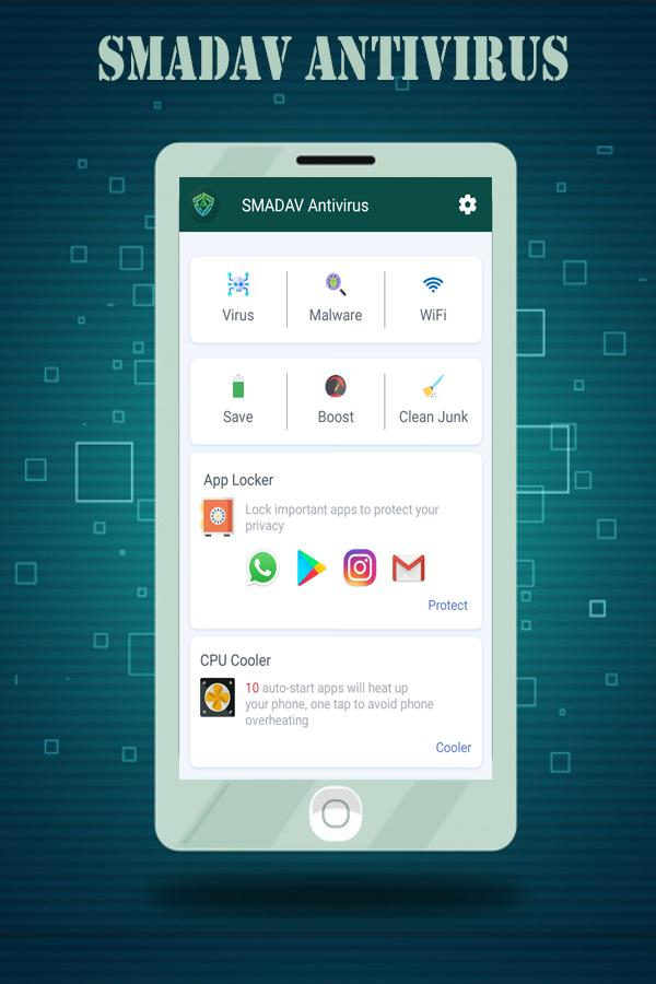 SmaDAV-Free Antivirus 2018 for android for Android - APK