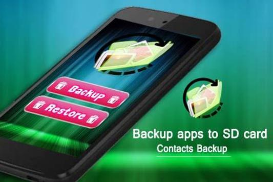 Contacts Backup screenshot 2
