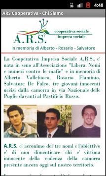 ARS Cooperativa Sociale apk screenshot