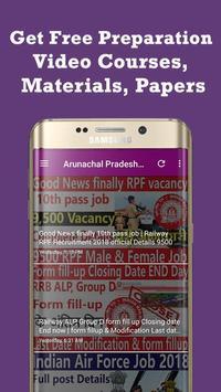 Arunachal Pradesh Job Alerts - Govt Jobs Alert screenshot 3