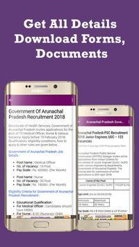 Arunachal Pradesh Job Alerts - Govt Jobs Alert screenshot 4