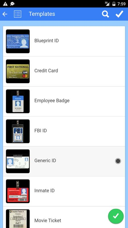 Fake ID Generator APK Download - Free Entertainment APP for Android