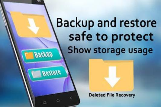 Deleted File Recovery Poster