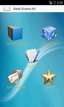 Bank Exams Kit poster