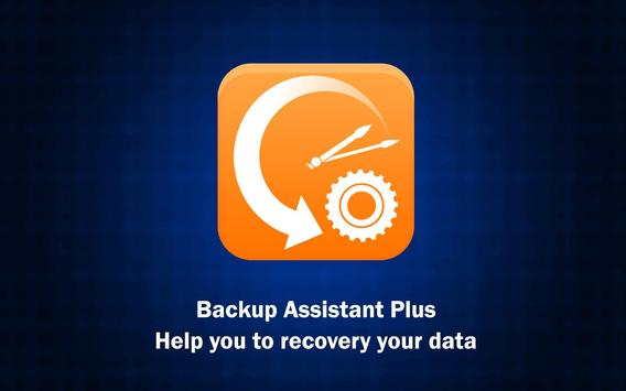 Backup Assistant Plus poster