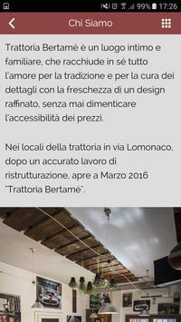 Trattoria Bertamè screenshot 3