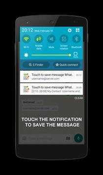 Save Messages From WhatsApp screenshot 4