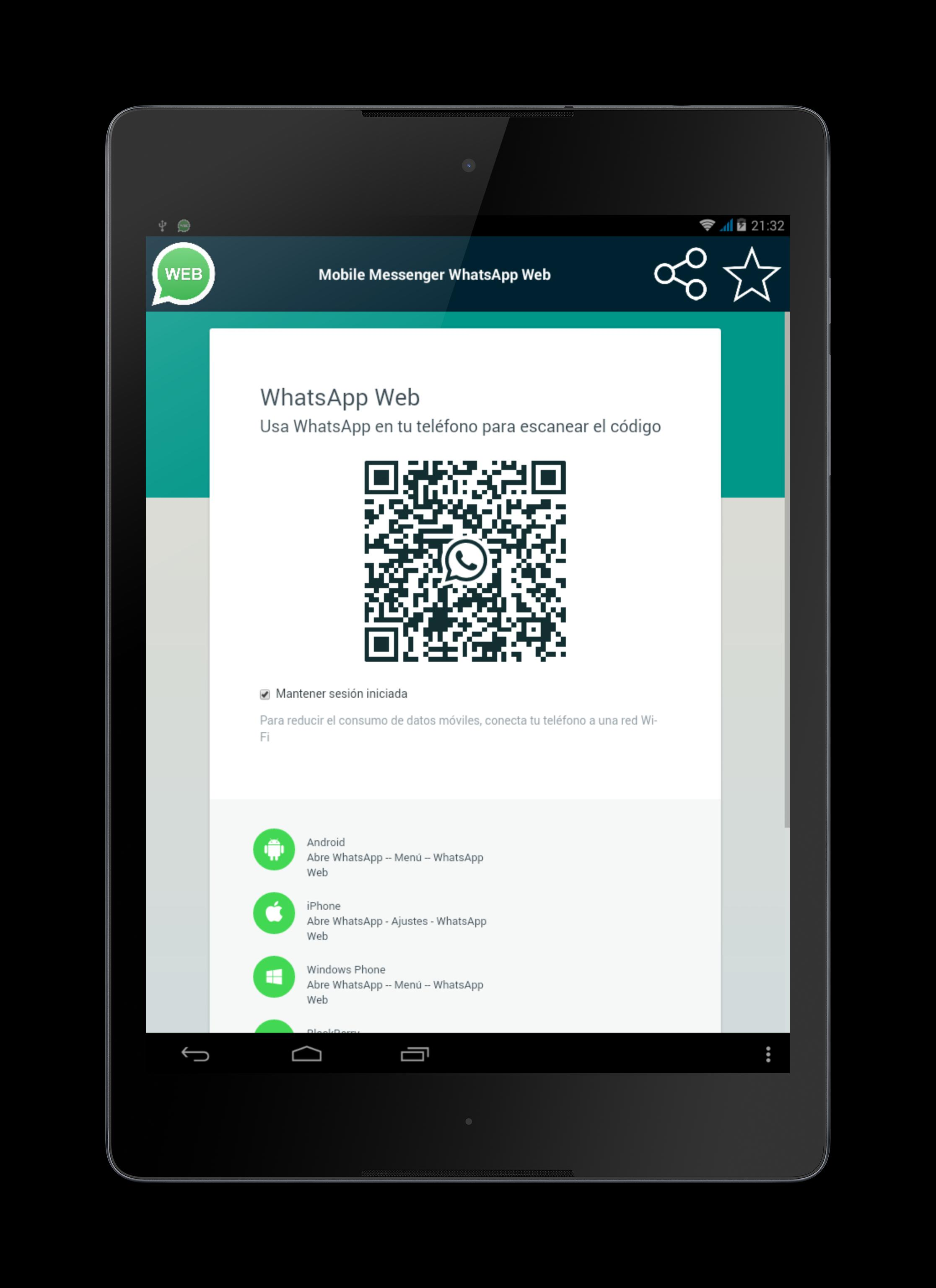 Whatsapp web login mobile