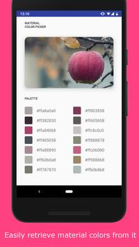 Material Color Picker screenshot 1