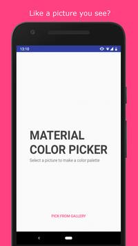 Material Color Picker screenshot 2