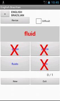 English Brazilian Dictionary apk screenshot