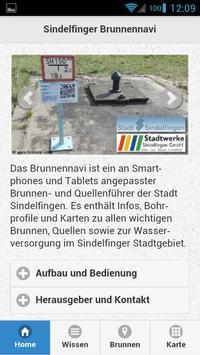 Brunnennavi für Sindelfingen poster