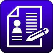 Job CV Maker PDF | Resume Builder icon