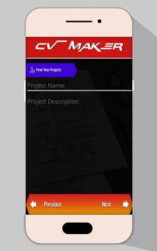 Job CV Maker PDF | Resume Builder screenshot 5