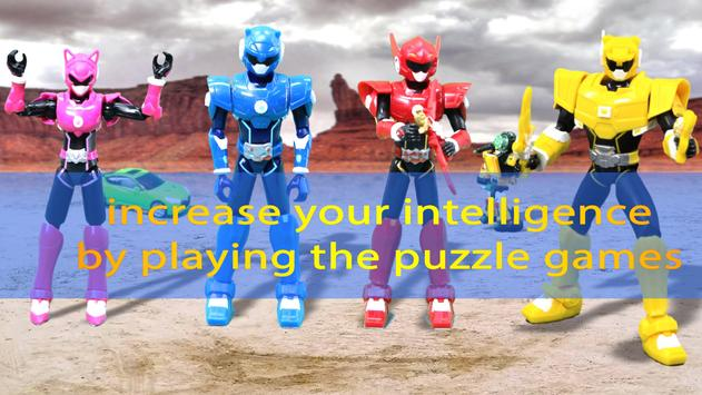 Ranger Mini Force Puzzle poster