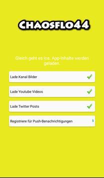 Chaosflo44 Zuschauer App poster
