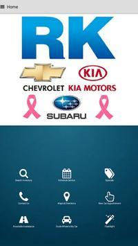 RK Chevrolet Kia Subaru poster