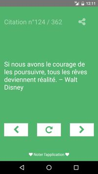 Citation de motivation apk screenshot