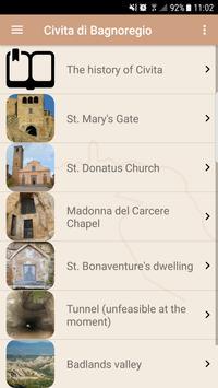 Civita di Bagnoregio apk screenshot