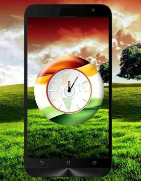 Republic Day Clock poster