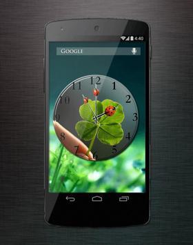 Lucky Clover Clock LWP apk screenshot