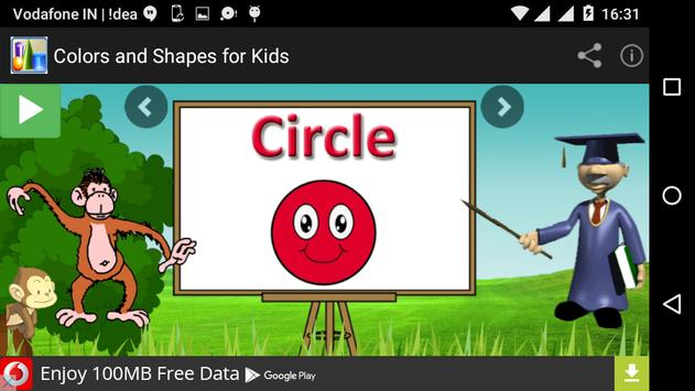Colors and Shapes for Kids apk screenshot