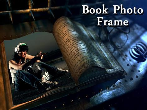 Book Photo Frame poster