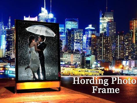 Hoarding Photo Frame poster