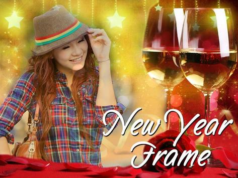 New Year Photo Frame screenshot 1