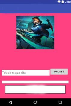 Quiz mobile legends character screenshot 8