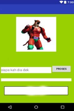 Quiz tekken pro character screenshot 5