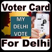 Voter Card For Delhi icon
