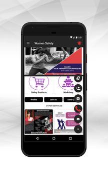 MSMR Women Safety App poster