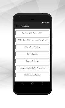 MSMR Women Safety App screenshot 1