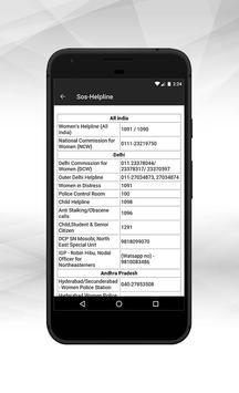 MSMR Women Safety App screenshot 2