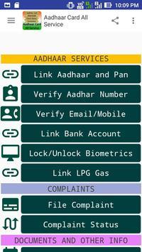 Aadhaar Card All Service screenshot 3